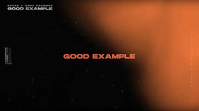 Good Example with R3HAB [Lyric Video]